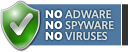 Guaranteed: No adware, no spyware, no viruses